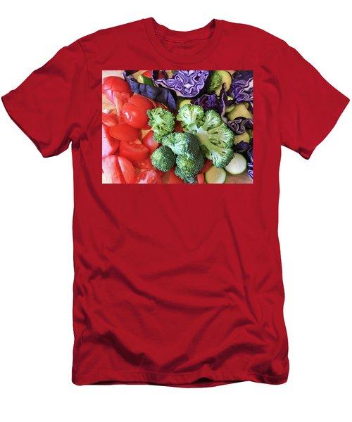 Raw Ingredients Men's T-Shirt (Slim Fit) by Tom Gowanlock
