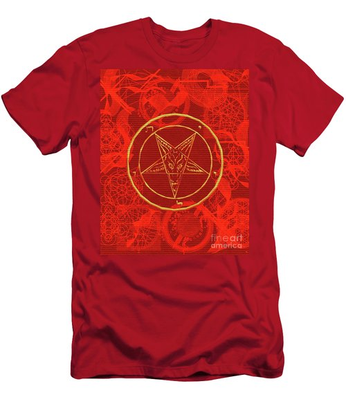 Symbols Of The Occult Men's T-Shirt (Athletic Fit)