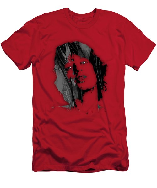 Mick Jagger Collection Men's T-Shirt (Athletic Fit)