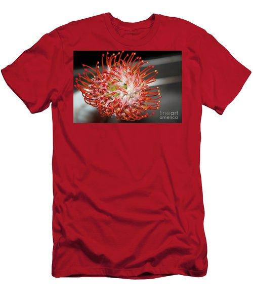 Exotic Flower Men's T-Shirt (Slim Fit) by Elvira Ladocki