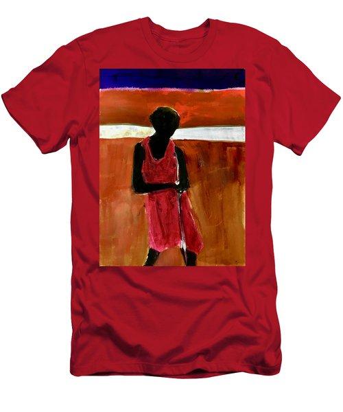Masaai Boy Men's T-Shirt (Athletic Fit)