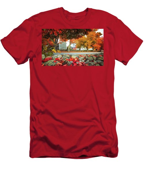 Shaker Village Men's T-Shirt (Athletic Fit)