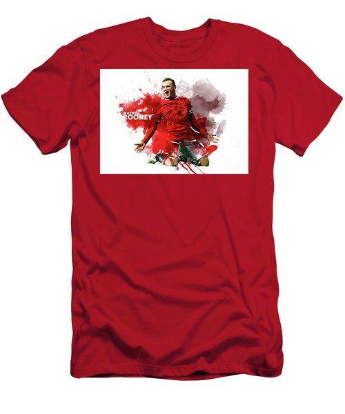 Wayne Rooney Men's T-Shirt (Athletic Fit)