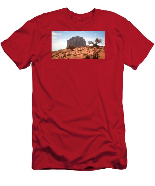 #3328 - Monument Valley, Arizona Men's T-Shirt (Athletic Fit)