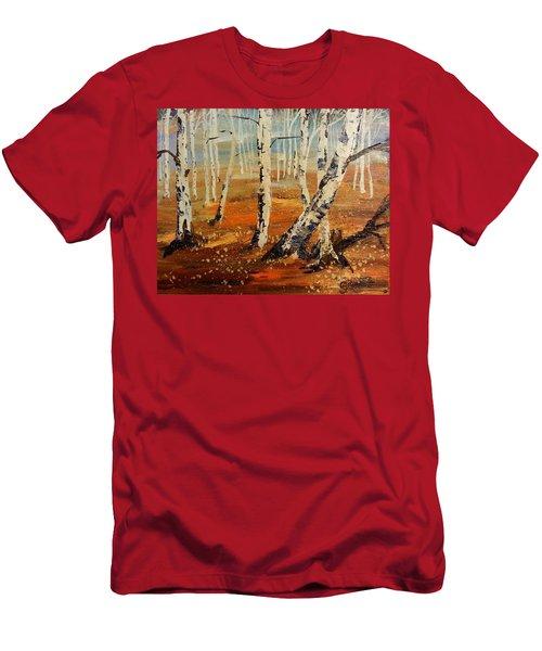 #38 Last Leaves Men's T-Shirt (Athletic Fit)
