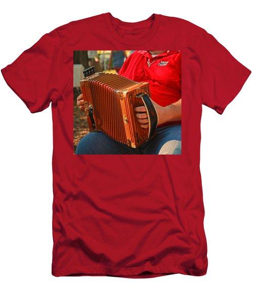 Acordian Men's T-Shirt (Slim Fit) by Ronald Olivier