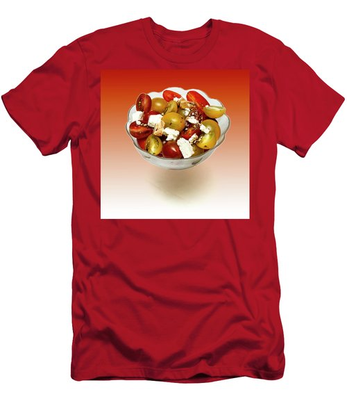 Plum Cherry Tomatoes Men's T-Shirt (Athletic Fit)