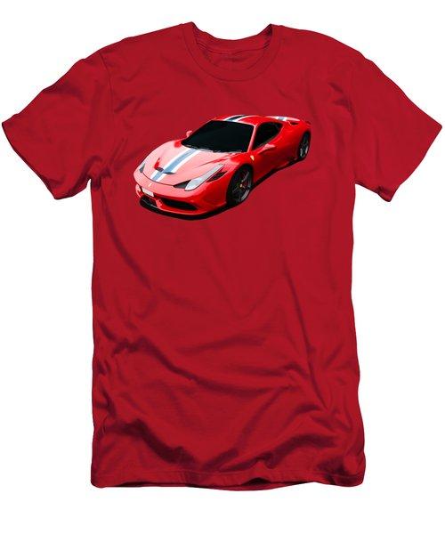 458 Speciale Men's T-Shirt (Slim Fit) by Roger Lighterness