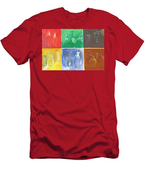 6 Panes Of Existence Men's T-Shirt (Athletic Fit)