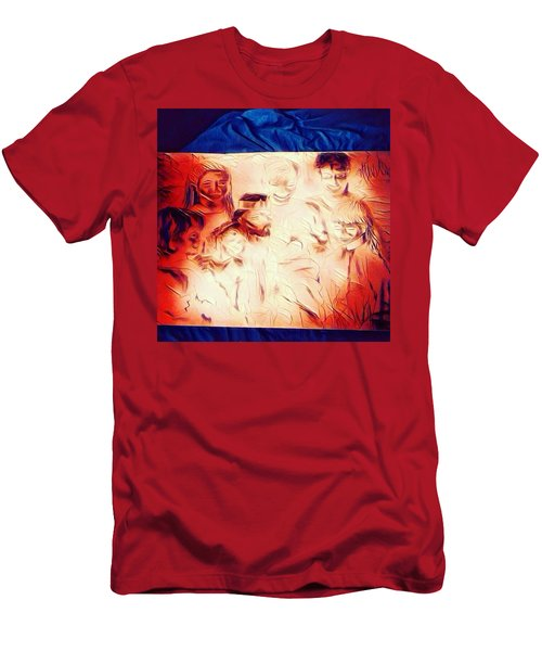 In Heaven With Jesus Men's T-Shirt (Athletic Fit)