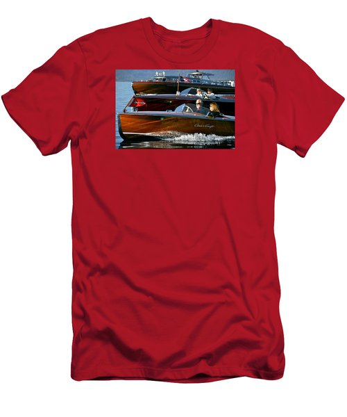 Classic Wooden Runabouts Men's T-Shirt (Athletic Fit)