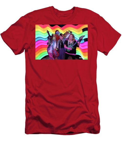 80's Dance Party At Sterling Event Center Men's T-Shirt (Athletic Fit)