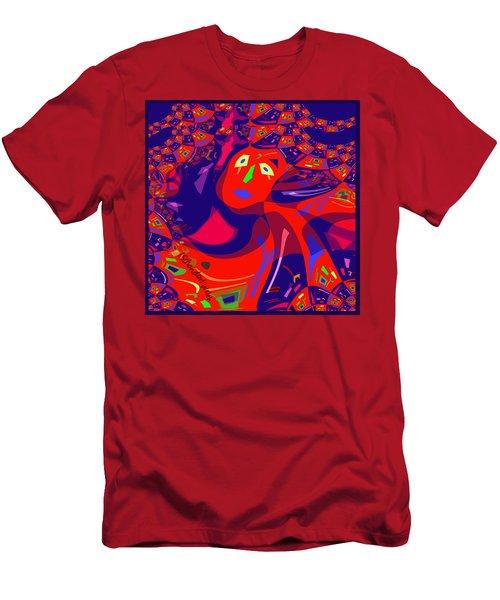 873 - Clown Lady Pop  -2017 Men's T-Shirt (Athletic Fit)