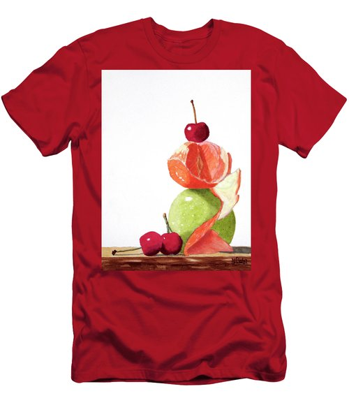 A Balanced Meal Men's T-Shirt (Athletic Fit)