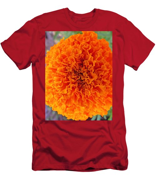 A Burst Of Orange Men's T-Shirt (Athletic Fit)