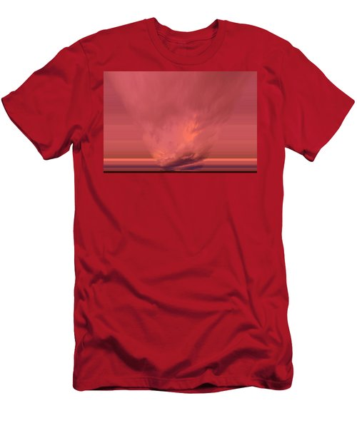 A Cloud Falling Through Men's T-Shirt (Athletic Fit)