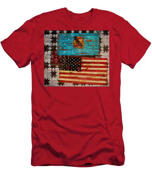 A Good Day In The Usa Men's T-Shirt (Athletic Fit)