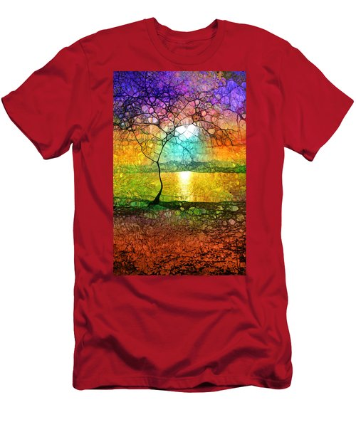 A Light Like Love Men's T-Shirt (Athletic Fit)