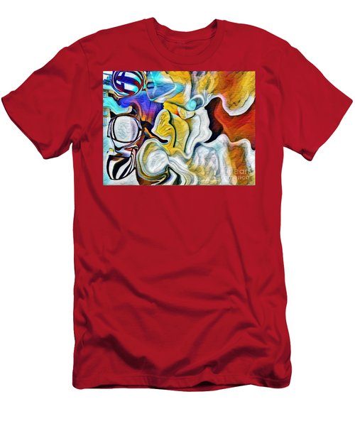 Men's T-Shirt (Slim Fit) featuring the photograph A New Day Coming by Kathie Chicoine