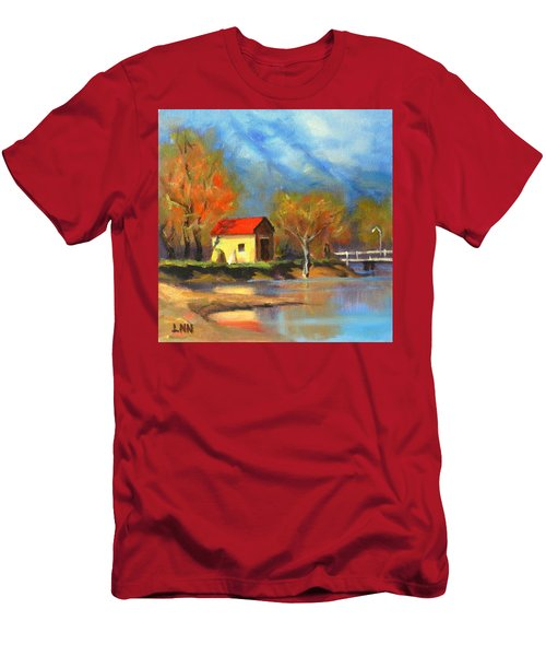 A River Bank Men's T-Shirt (Athletic Fit)