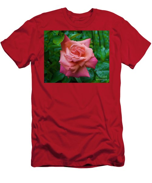 A Rose In Spring Men's T-Shirt (Athletic Fit)