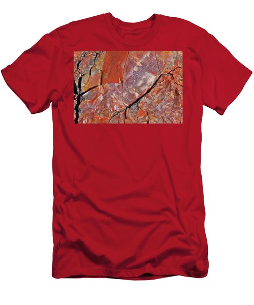 Men's T-Shirt (Slim Fit) featuring the photograph A Slice Of Time by Gary Kaylor