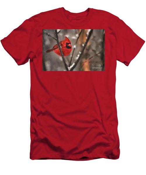 A Spot Of Color Men's T-Shirt (Athletic Fit)