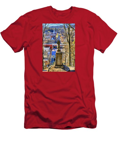 A View From College Hill Men's T-Shirt (Athletic Fit)