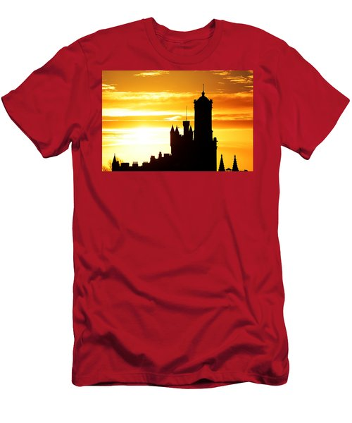 Aberdeen Silhouettes - Landscape Men's T-Shirt (Athletic Fit)