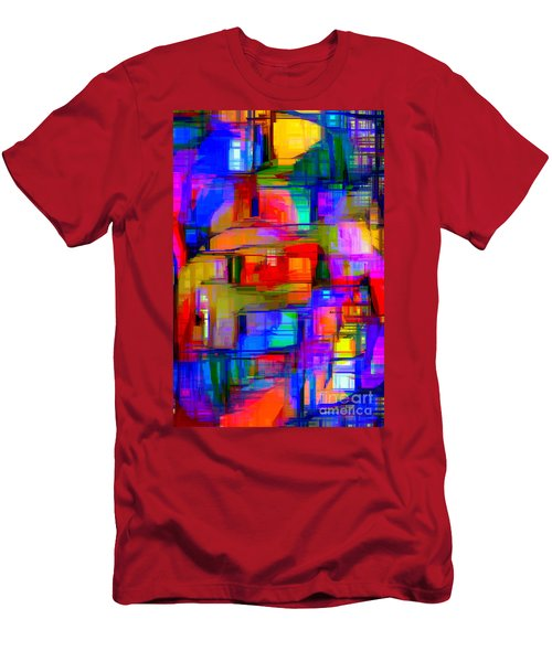 Abstract 1293 Men's T-Shirt (Athletic Fit)