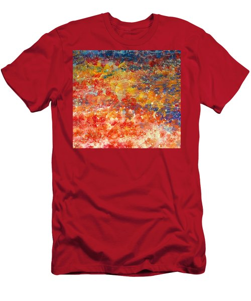Abstract 2. Men's T-Shirt (Athletic Fit)