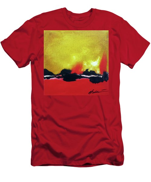 Abstract 201207 Men's T-Shirt (Athletic Fit)