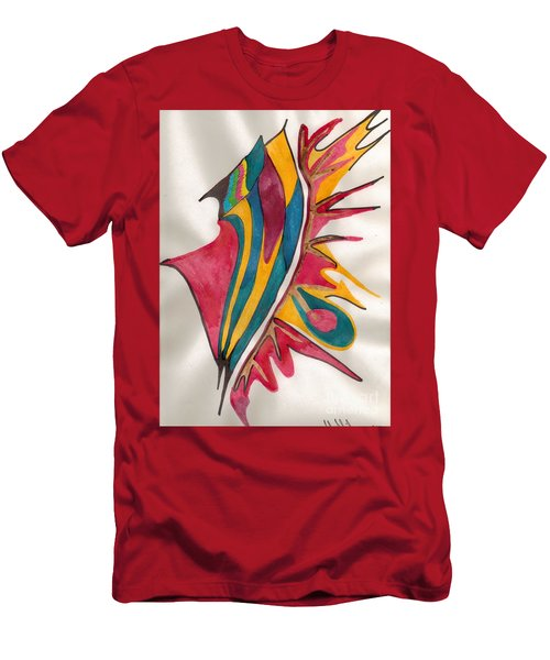 Abstract Art 102 Men's T-Shirt (Athletic Fit)