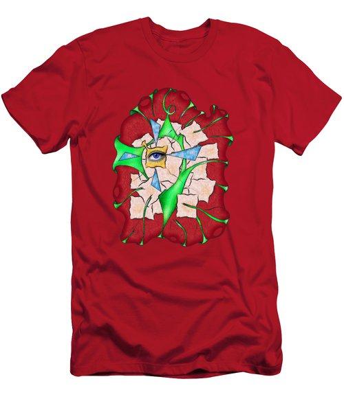 Abstract Digital Art - Deniteus V2 Men's T-Shirt (Athletic Fit)