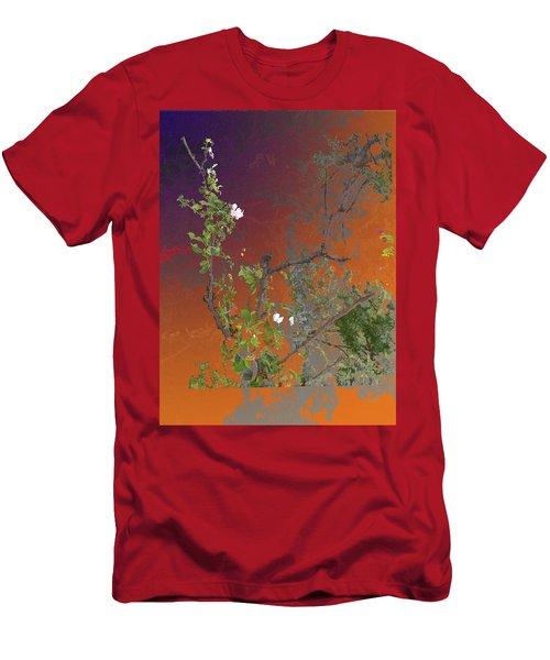 Abstract Flowers Of Light Series #13 Men's T-Shirt (Athletic Fit)