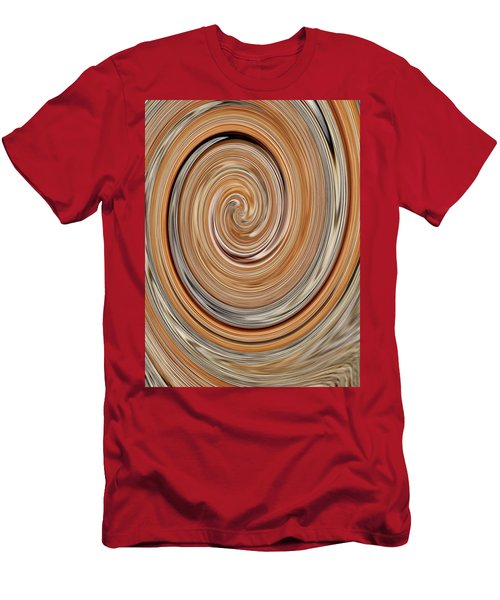 Abstract No. 34-3 Men's T-Shirt (Slim Fit) by Sandy Taylor