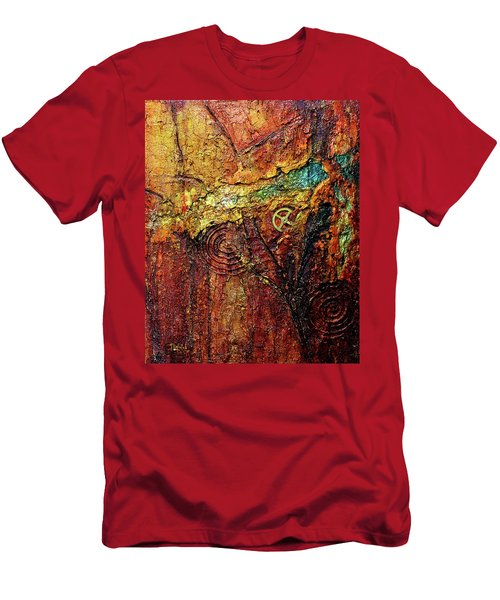 Abstract Rock 2 Men's T-Shirt (Athletic Fit)