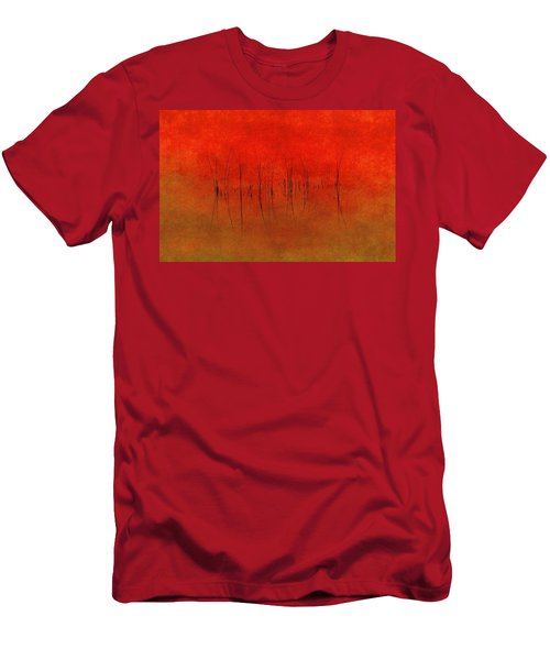 Abstract Sunset  Men's T-Shirt (Slim Fit) by Andrea Kollo