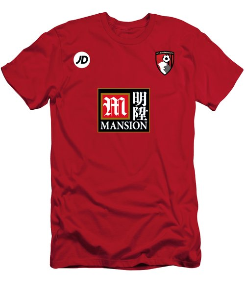 Afc Bournemouth Men's T-Shirt (Athletic Fit)