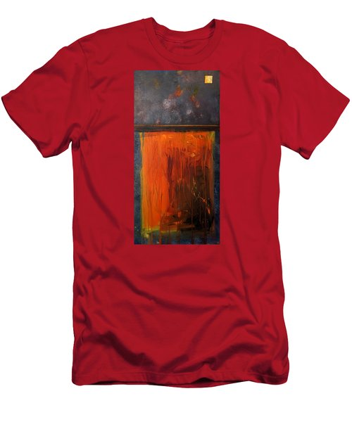 African Dance Men's T-Shirt (Slim Fit) by Theresa Marie Johnson