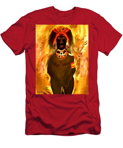 African Warrior Men's T-Shirt (Athletic Fit)