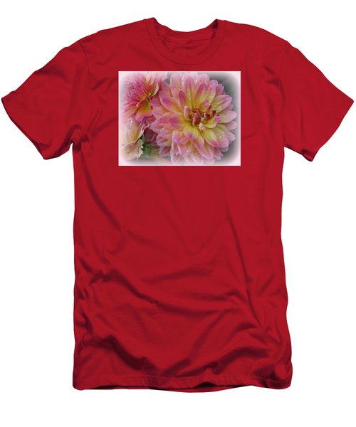 After The Rain - Dahlias Men's T-Shirt (Athletic Fit)