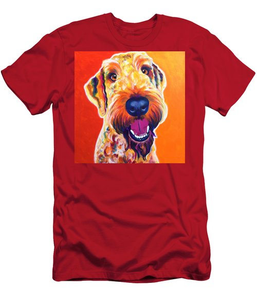 Airedoodle - Hank Men's T-Shirt (Athletic Fit)