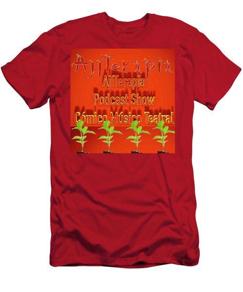 Ajiterapia Podcast Men's T-Shirt (Athletic Fit)