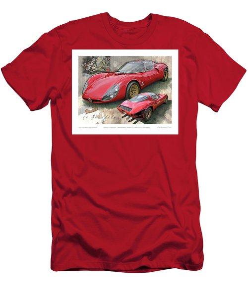 1967 Alfa Romeo 33 Stradale Men's T-Shirt (Athletic Fit)