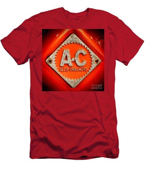 Allis Chalmers Badge Men's T-Shirt (Athletic Fit)