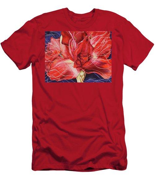 Amaryllis 1 Men's T-Shirt (Athletic Fit)