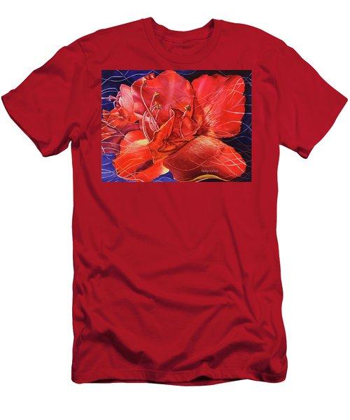 Amaryllis 2 Men's T-Shirt (Athletic Fit)