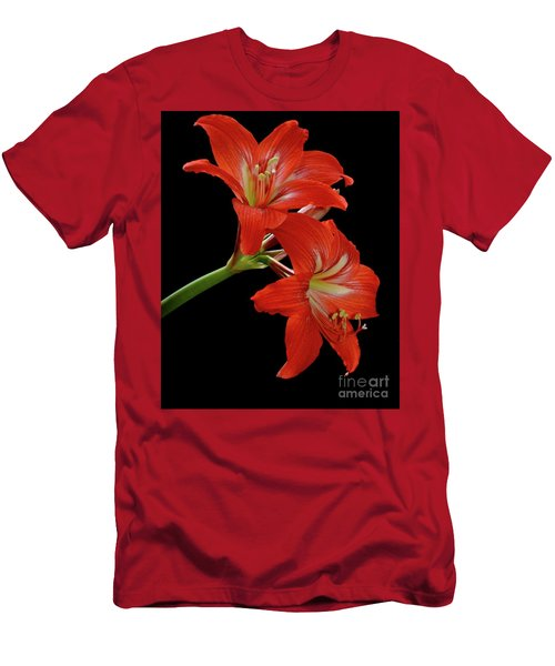 Amaryllis Men's T-Shirt (Athletic Fit)