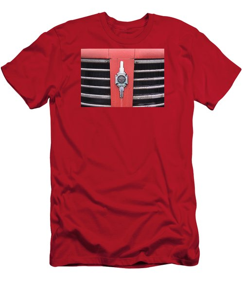 American Foamite Firetruck Emblem Men's T-Shirt (Athletic Fit)